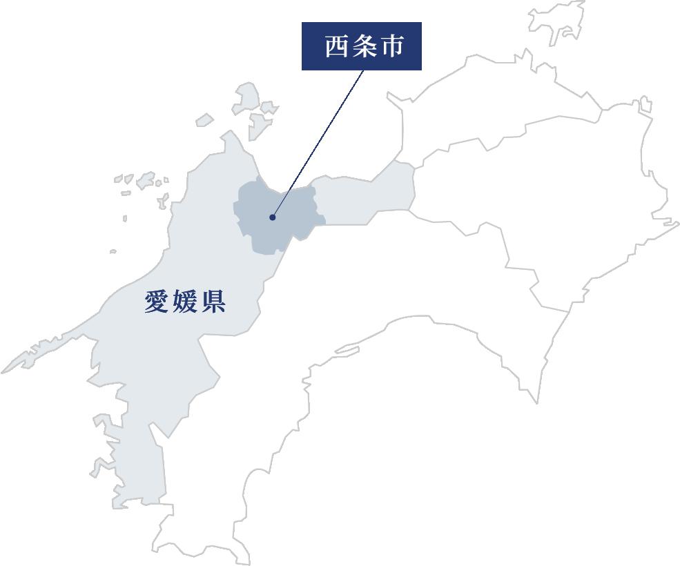 愛媛・西条市MAP