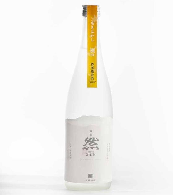 【秋限定】成龍然 特別純米酒 あきふかし/穣(JO)
