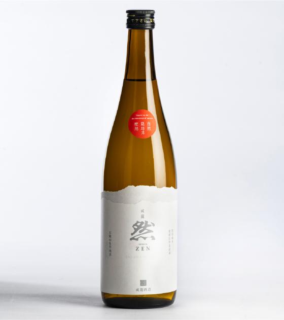 【特別限定品】成龍然 特別純米酒 自然栽培米