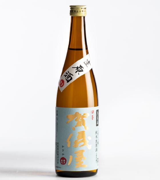 【準定番品】無濾過 純米 生原酒 空色ラベル しずく媛